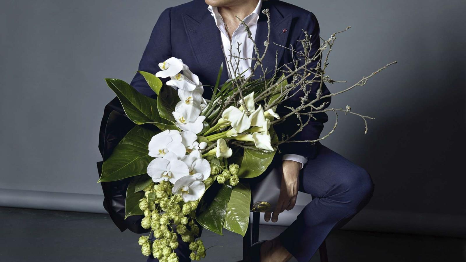 Фото цветы мужчинам