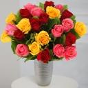 Букет из 25 кенийских роз